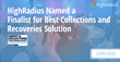 HighRadius Named as Finalist for the 2018 Credit & Collections Technology Awards
