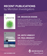 Results From Meridian Clinical Research Studies Featured in Prestigious Publications and Academic Presentations