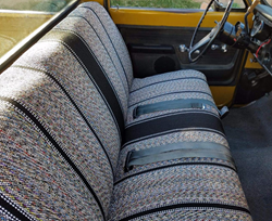 Saddleblanket truck bed seat covers for sale online by Seat Covers Unlimited