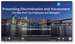 Stop Sexual Harassment in NYC Act Training Online
