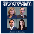 Anderson & Associates, P.C. Promotes Four Lawyers to Partner