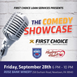 First Choice Loan Services Hosts Comedy Showcase