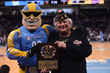 Chicago Sky Honors Colonel Jennifer Pritzker During the Military Moment of the Game