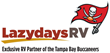 Lazydays RV Tailgating Lot Hosts RV Fans for First Buccaneers Pre-Season Home Game on August 24, 2018
