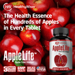 AppleLife™ Apple Cider Vinegar Capsules by HealthyWiser™ Set For Amazon Launch