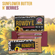 Rowdy Prebiotic Foods Introduces Third Flavor in Prebiotic Energy Bar Line: Sunflower Butter N' Berries