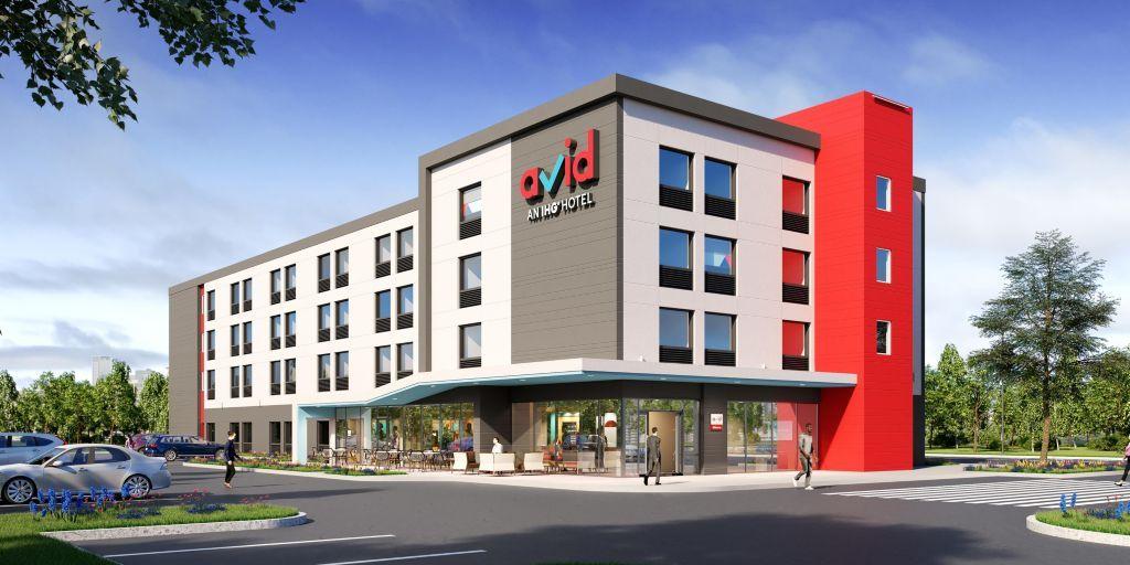 Champion hotels taps dormakaba for first ihg avid hotel for Hotel designer