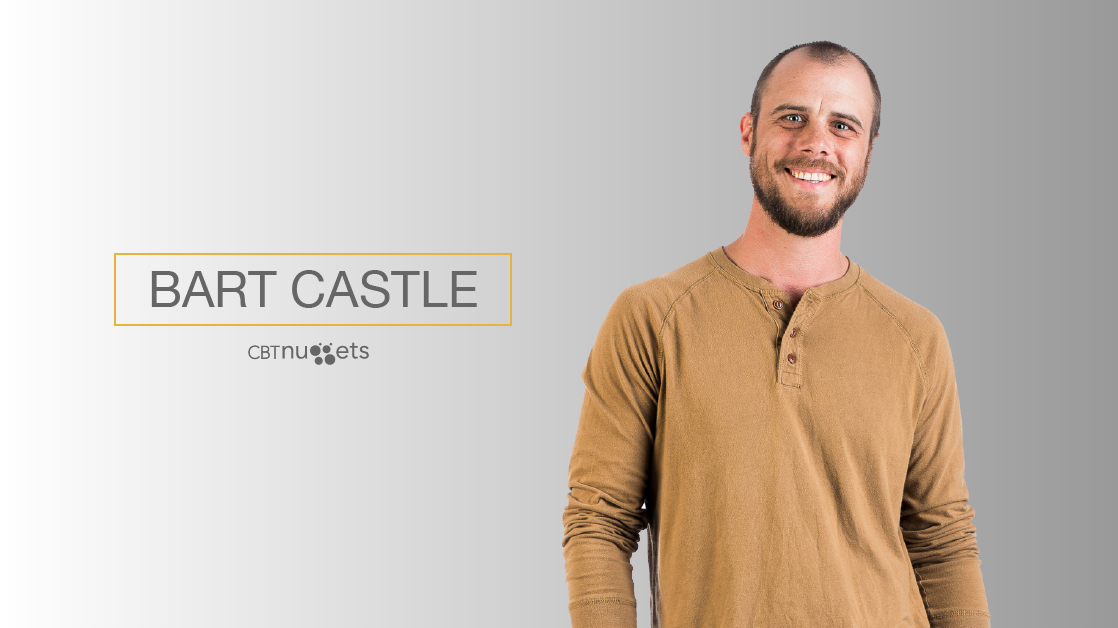 CBT Nuggets Adds AWS Trainer Bart Castle to its Course Lineup
