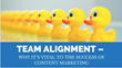 Team Alignment for Content Marketing Success: Magnificent Marketing Presents a New Podcast Episode on Creating a Stronger Marketing Team for Better Business