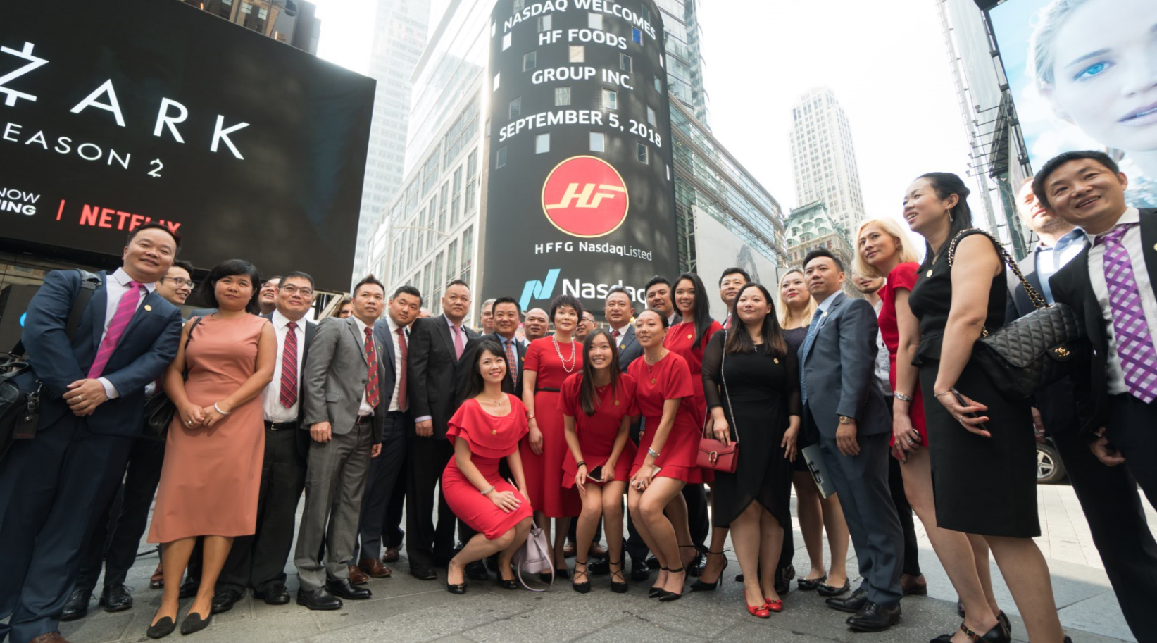 HF Foods Group Rings the Opening Bell of Nasdaq in New York