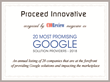 Proceed Innovative Named to the 20 Most Promising Google Solutions Providers of 2018 by CIOReview Magazine
