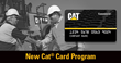 Hawthorne Cat Announces the New Cat Card Program from Cat Financial