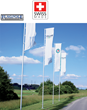 Flagpole Warehouse, A Division of The Flag Company, Inc., Stocking Distributor of ALUART Flagpoles and Banner Poles in the U.S., Unfurls The Standard Banner Arm Flagpole