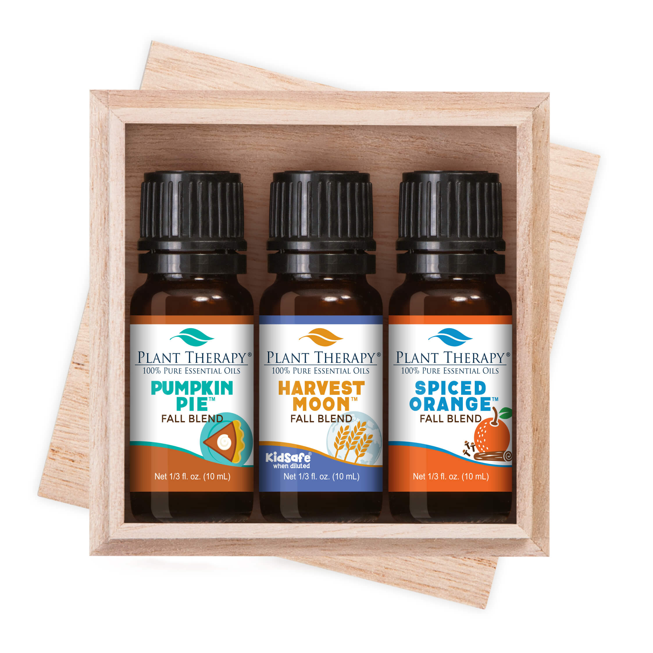 Plant Therapy Releases The Autumn Treasures Fall Blends Set Its Line Of Popular Fall Essential Oil Blends Packaged In An Attractive Three Set