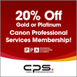 Professional Photographers of America and Canon Team Up to Offer Discounted CPS Membership