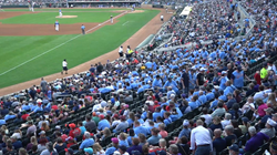 Wearing Harmon's Heart t-shirts, fans help fill Target Field
