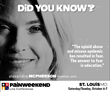 PAINWeekEnd Conferences Return: PAINWeekEnd in St. Louis, Missouri, Offers CE/CME Education to Aid the Opioid Abuse Public Health Crisis