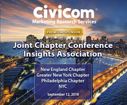 Civicom Marketing Research Services sponsors the Joint Chapter Conference of Insights Association in New York City