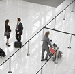 Three Leading Airports Choose Magnetic-Mounted Stanchions from Lavi Industries to Improve Queue Management and Passenger Flow