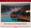 Porto Conference 2018 - Basic Science of a Changing Climate