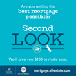 Get a Second Look from Allen Tate Mortgage