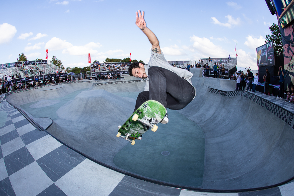 30dc236530 Monster Energy s Sam Beckett and Rune Glifberg Shine at the 2018 Vans Park  Series Europa Continental Championships