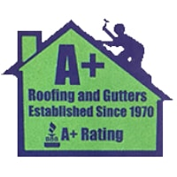 photo of A Plus Roofing and Gutters logo