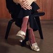 Tabio Debuts World's Finest Lamé Socks