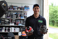 Eco Lube Express Manager Michael Puccio