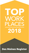 UFG Insurance Named A Top Workplace For 2018