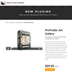 Developers at Pixel Film Studios Announce ProTrailer Art Gallery for Final Cut Pro X.