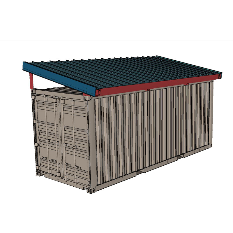 Shield Roof Solutions Debuts New Shipping Container Covers