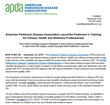 American Parkinson Disease Association Launches Parkinson's Training for Fitness, Health and Wellness Professionals