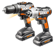New WORX 20-volt Drill/Driver and Impact Driver Combo Kit Expands DIY Project Capabilities