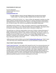 Versatile Southwest Arkansas Premier Offering Enters the