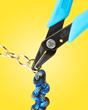 Xuron® Model 496 Split Ring Pliers Eliminates the Need for Multiple Hold and Pry Tools
