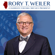 Lawyer Rory T. Weiler Announces Candidacy for Third Vice-President of Illinois State Bar Association