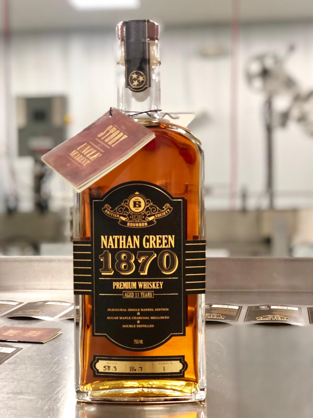 Uncle Nearest Debuts Nathan Green 1870 Single Barrel The