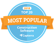 Snappii Listed #13 in Capterra's Top 20 Most Popular Construction Management Software List