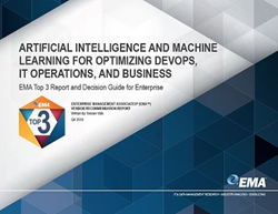 EMA Top 3 Enterprise Decision Guide for Artificial Intelligence (AI) and Machine Learning (ML)
