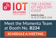 Momenta Partners Unveils Insights and Talent Practices at IoT Solutions World Congress 2018