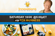 Innovations Explores Breakthroughs in Technology on Upcoming Episode, Airing 10/20