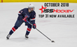 ISS Hockey Releases Top 31 for October, Rankings of Top Prospects for 2019 NHL Draft