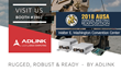 ADLINK Technology to Showcase Rugged Computing Solutions for Defense and Aviation at AUSA 2018 in Washington, D.C.