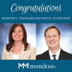 Momkus LLC Two New Members And Managing Partners Jennifer Friedland and Bret Klemetson
