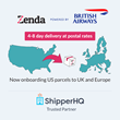 ShipperHQ Announces New Partnership With Zenda to Help Retailers Expand and Simplify Door-to-door International Shipping