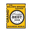 Makers Nutrition honored as GRAND winner in the 10th Annual 2018 Golden Bridge Awards®