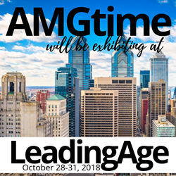 AMGtime Provides Healthcare Industry Solutions at LeadingAge 2018