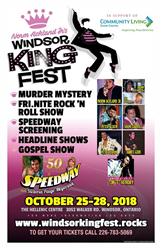 Windsor King Fest Rocks Ontario October 25-28
