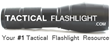 TacticalFlashlight.com has entered the online arena of tactical flashlights, gear and equipment this October 2018